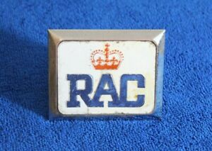 Royal Automobile Club Rac Grille Badge License Plate Topper Jag Mg Rover Austin