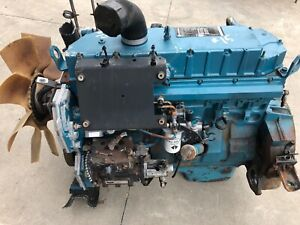 2003 International Dt466 Diesel Engine Running Take Out 159k Runs Perfect