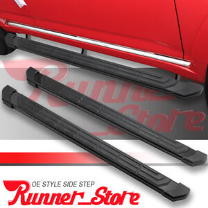 Fit 02 08 Dodge Ram 1500 Quad Cab 4 5 Running Board Nerf Bar Side Step Black Fr