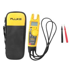 Fluke T6 1000 Digital Non contact Volt Amp Ohm Hz Clamp Meter Electrical Tester
