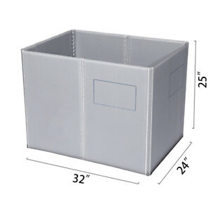 32 X 24 X 25 Plastic Pallet Pack Container Board