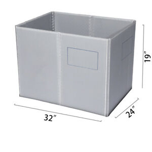32 X 24 X 19 Plastic Pallet Pack Container Board