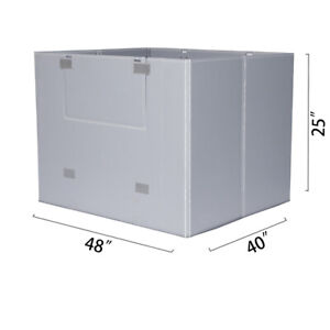48 X 40 X 25 Plastic Pallet Pack Container Board
