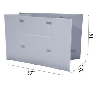57 X 45 X 19 Plastic Pallet Pack Container Board