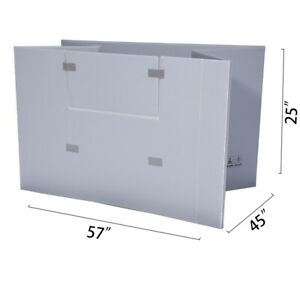 Toolots 57 X 45 X 25 Plastic Pallet Pack Container Board