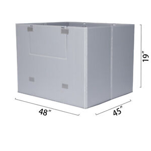 48 X 45 X 19 Plastic Pallet Pack Container Board