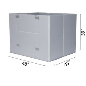 Toolots 48 X 45 X 34 Plastic Pallet Pack Container Board
