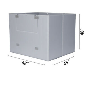 Toolots 48 X 45 X 48 Plastic Pallet Pack Container Board