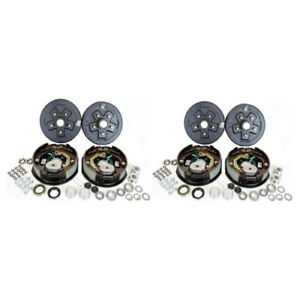2 5 4 5 Bolt Circle 3 500 Lbs Trailer Axle Electric Brake Kits
