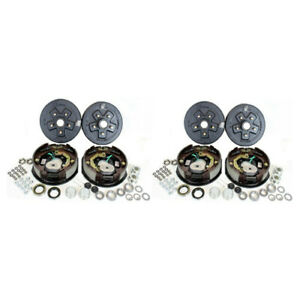 2 5 5 5 Bolt Circle 3 500 Lbs Trailer Axle Electric Brake Kits