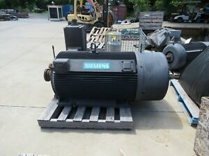 Siemens 300 Hp Electric Motor 1785 Rpm 4000 Volts 509s Frame Used