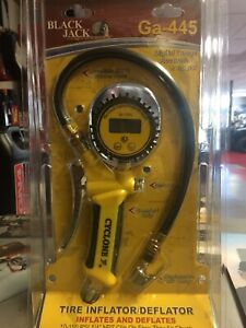 Cyclone Tire Inflator deflator 10 150 Psi Digital Air Gauge Ga 445