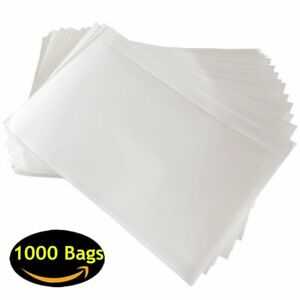 1000 6x9 Clear Packing List Pouch Mailing Labels Enclosed Envelope Free Shipping