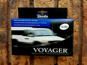 Tekonsha 9030 Voyager Electric Trailer Brake Controller 1 4 Axles New In Box