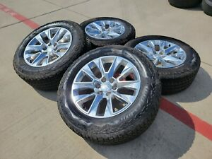 20 Gmc Sierra Yukon Chevy Oem Wheels Rims Tires 5650 2015 2016 2017 2018 2019