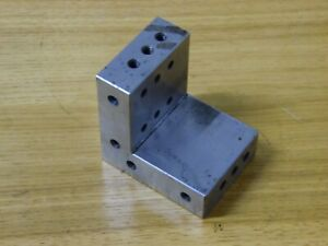 Angle Plate Jig Fixture Setup Machinist Tooling Grinding Milling Tapped