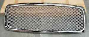 Fits Dodge Ram 02 05 Truck Stainless Steel Mesh Grill Shell Replacement Chrome