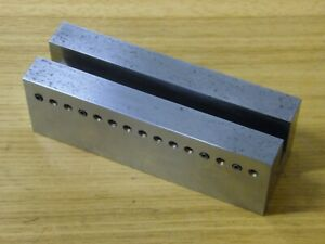 Machinist Tool Precision Grinding Milling Mill Jig Fixture Vise 1 2 Groove Hold