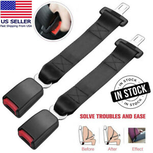 12 Universal Car Auto Seat Seatbelt Safety Belt Extender Extension 7 8 Buckle