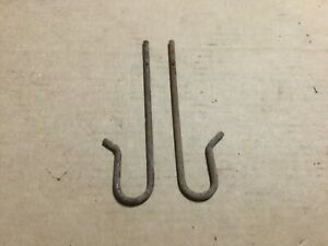 Ih Farmall H M Md Supers Tractor Hood Clamp Hook 2ea