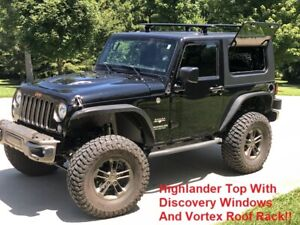 Jeep Wrangler Jk Hardtop discovery Model Available In Black Spice Or White