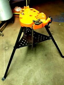 Ridgid Model 450 Tristand 1 8 To 5 Pipe Vise Bender