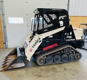 2016 Terex R070t Compact Track Loader 492 Hours