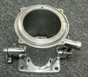 Corvette Rochester Fuel Injection Isca Show polished Air Meter