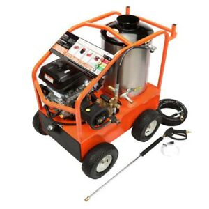 Gas Hot Water Pressure Washer 4000 Psi 3 5 Gpm 14 Hp Kohler General Pump