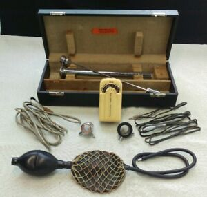 Vintage Doctors Endoscope With Tested Light Source Sheath National Usa