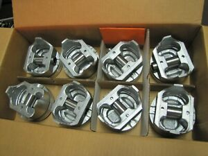 Dynagear 383115h Std Set Of 8 Pistons For Chevy 383