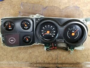 73 86 Chevy Silverado Gmc Sierra Truck Dash Instrument Cluster Guages Assembly 1