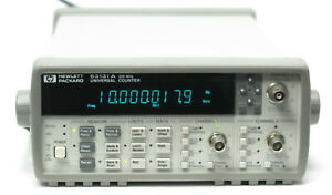 Hp Keysight 53131a Universal Frequency Counter 225mhz Options 010