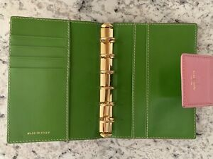 Kate Spade Rare Agenda Pocket Size Planner Made In Italy