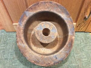 Hat Making Mold Block Form Antique Vintage Millinery Old Tool Wood Store Display