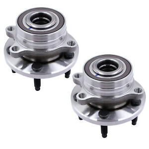 Pair 2 Front Rear Wheel Hub Bearing Assembly Fits 11 17 Ford Explorer