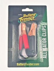 Battery Tender Alligator Clips Quick Disconnect 081 0069 4 Deltran Clamp Connect