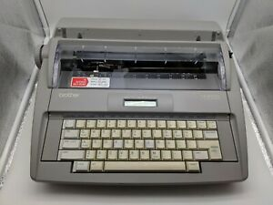 Brother Sx 4000 Electronic Lcd Display Typewriter Tested