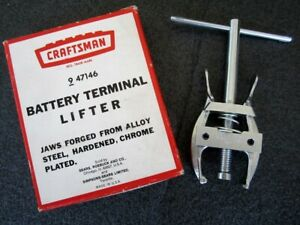 Vintage Craftsman Battery Terminal Lifter Puller 47146 Like New Made In Usa