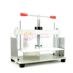 A4 Size Manual Flat Paper Press Machine For Nipping Receipt Books Invoices