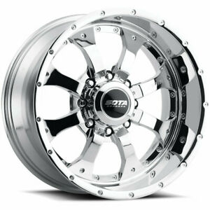 20x9 Sota Offroad 561ch Novakane Chrome Wheels Rims 25 5x150 Qty 2