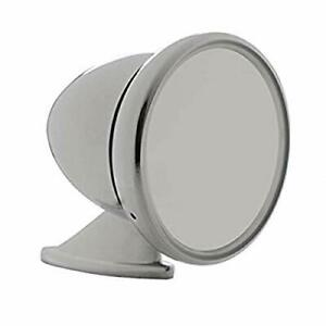 United Pacific Chrome Gt Racing Bullet Style Mirror S1401