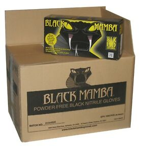 Black Mamba Glove Nitrile 3xl Blk150 Case Of 1000 Hvac Auto Mechanic Disposable
