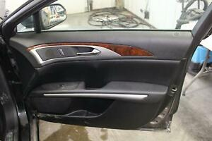2015 16 Lincoln Mkz Front Passenger Right Rh Black Door Panel Trim Card