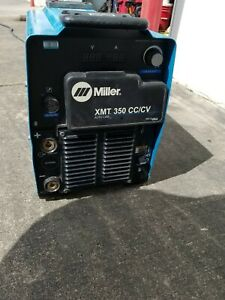 2016 Miller Xmt 350 Cc cv Mig Tig Stick Multi Process Welder Welding Machine