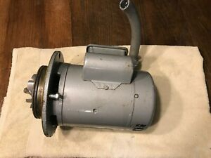 Hobart Am12a Am 12a Am14 Commercial Dishwasher Motor Single Phase 115 208