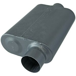 Flowmaster Super 44 Series Muffler 3 00 Offset In 3 00 Center Out Aggressi