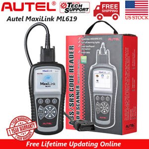 Autel Automotive Scan Tool Obd2 Code Reader Abs Srs Airbag Diagnostic Scanner