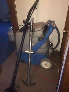 Carpet Cleaning Machine Extractor 12 Gal Solution Tank 150 Wl W Tools