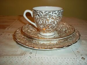 Royal Seagrave 3 Piece Tea Cup Set